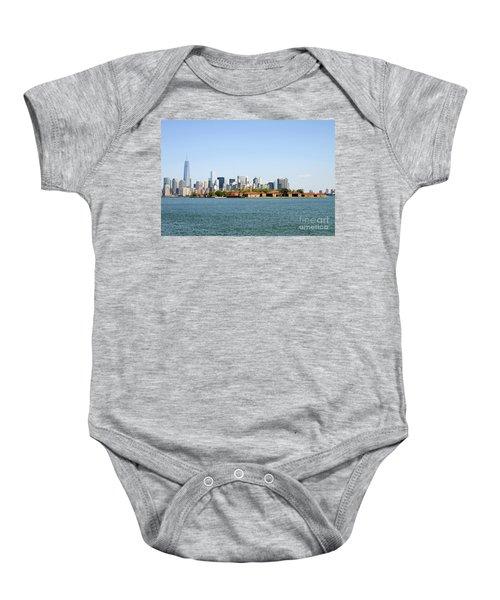 Ellis Island New York City Baby Onesie