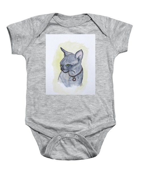 Else The Sphynx Kitten Baby Onesie
