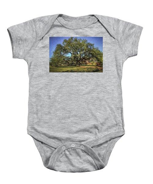 Emancipation Oak Tree Baby Onesie