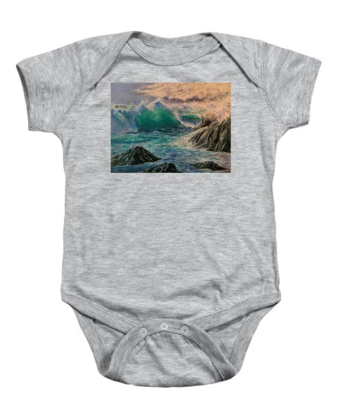 Emerald Sea Baby Onesie