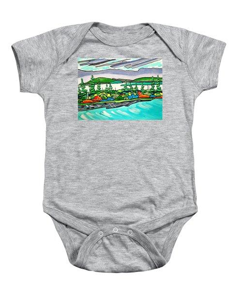 Emerald Sea Islands Baby Onesie