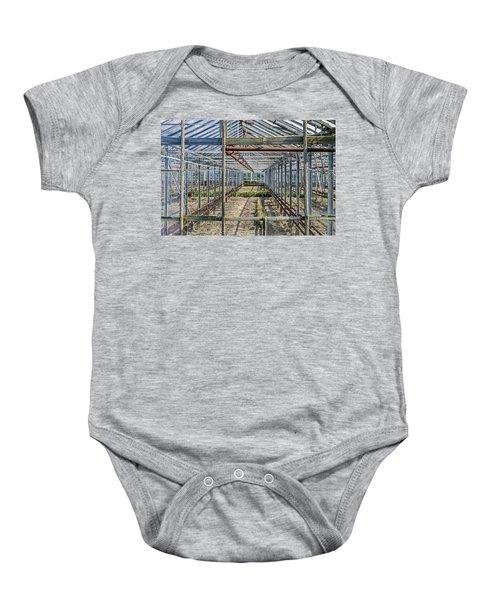 Empty Greenhouse Baby Onesie