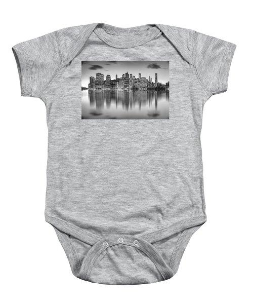 Enchanted City Baby Onesie by Az Jackson