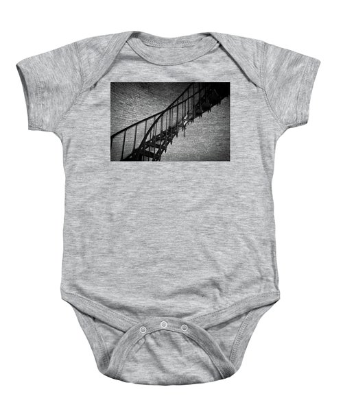 Enchanted Staircase II - Currituck Lighthouse Baby Onesie