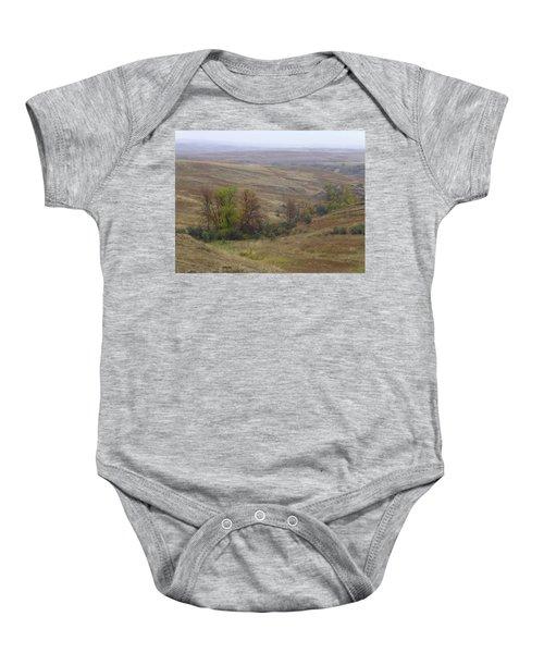 Enchantment Of The September Grasslands Baby Onesie