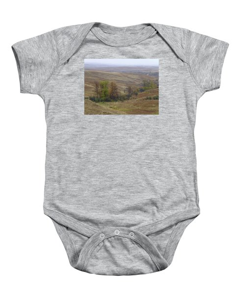 Enchantment Of The September Grasslands Baby Onesie
