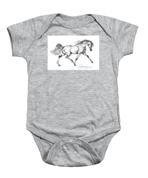 Endurance Horse Baby Onesie
