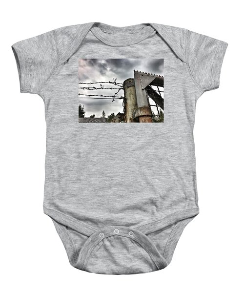 Entrance To The Old Ammunition Depot Of The Belgian Army Baby Onesie