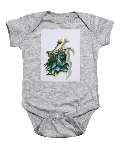 Erika's Spring Plant Baby Onesie