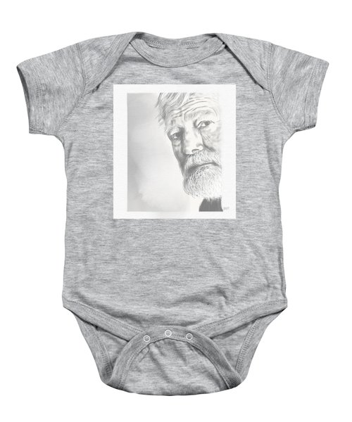 Ernest Hemingway Baby Onesie