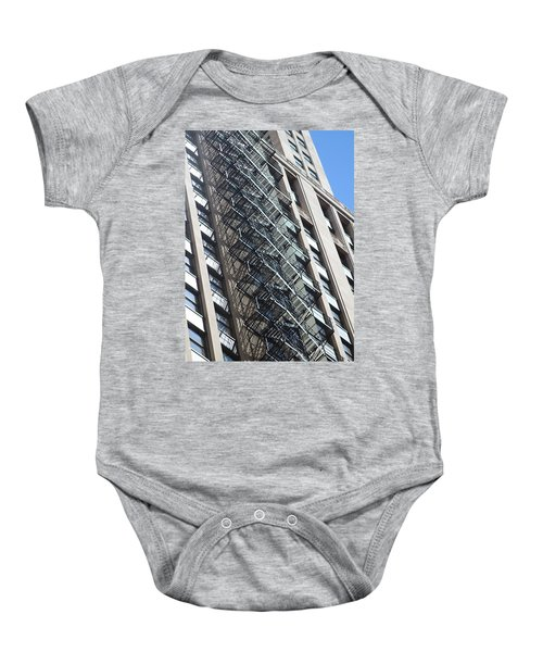 Escaping A Chicago Brownstone Baby Onesie