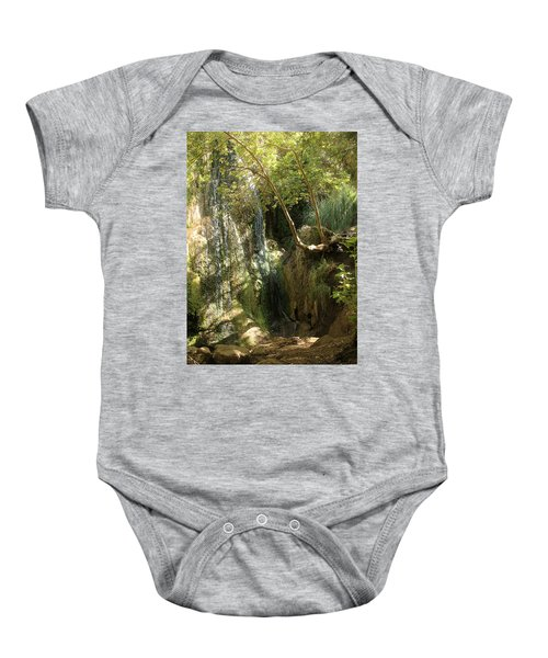 Escondido Falls In May Baby Onesie