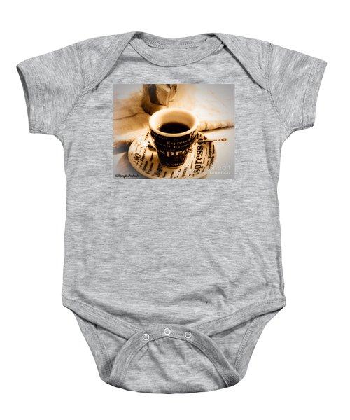 Espresso Anyone Baby Onesie