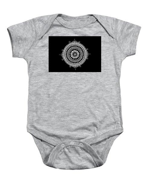 Estrella Mandala Baby Onesie