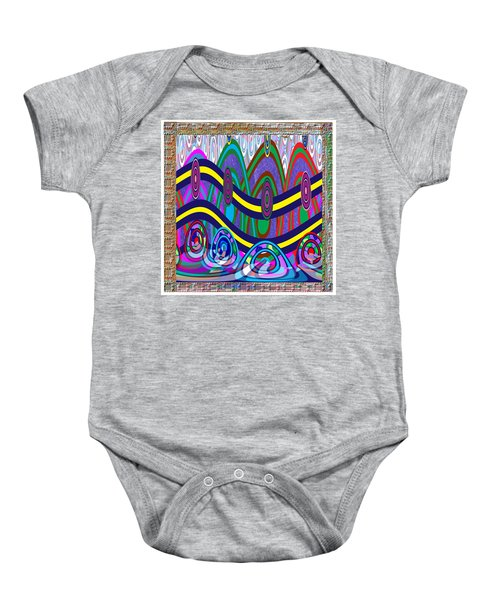 Ethnic Wedding Decorations Abstract Usring Fabrics Ribbons Graphic Elements Baby Onesie