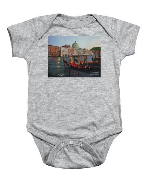 Evening In Venice Baby Onesie