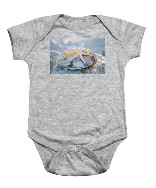 Every Grain Of Sand Baby Onesie