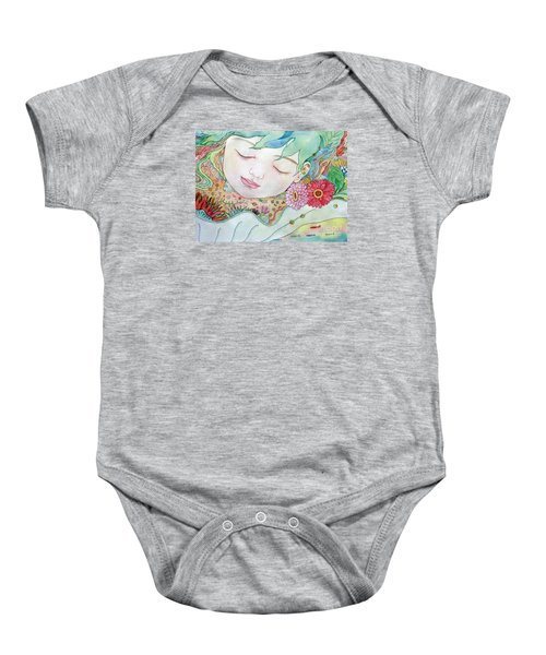 Everything Is A Child Of The Earth Baby Onesie