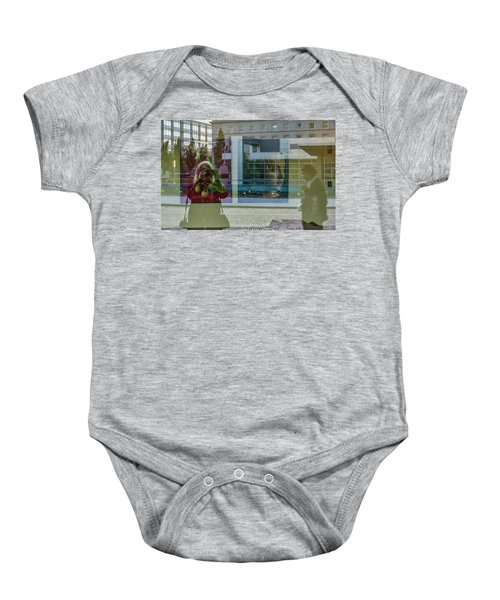 Everything Is Inside Out Baby Onesie