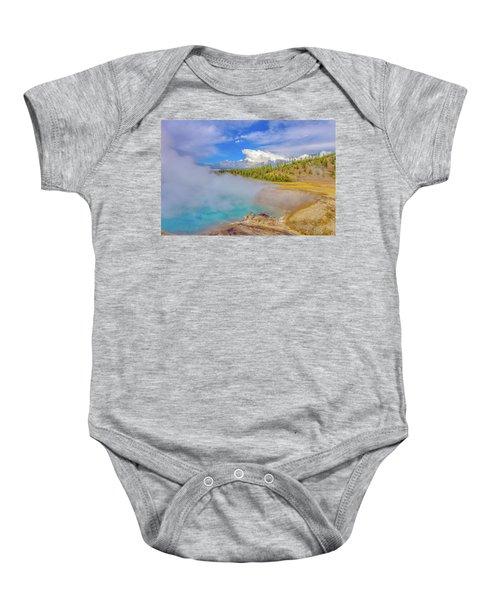 Excelsior Geyser Crater Yellowstone Baby Onesie