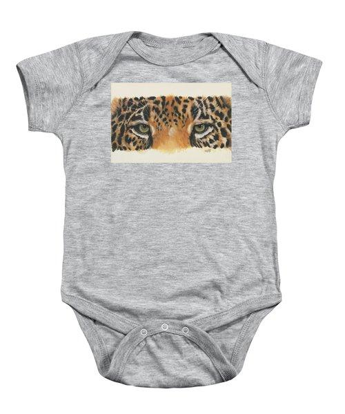 Jaguar Gaze Baby Onesie