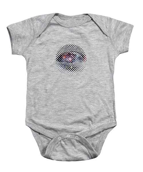 Eye Of Galaxy Baby Onesie