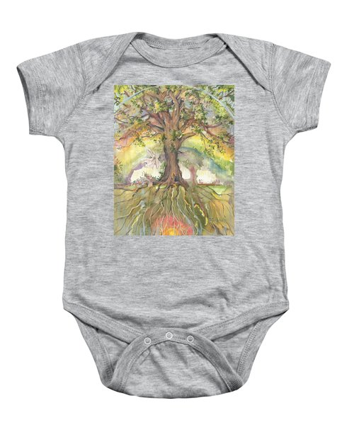 Eye See My Healing Tree Baby Onesie