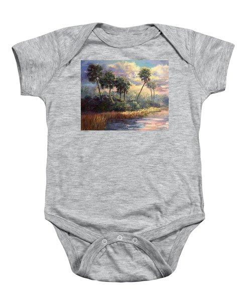 Fairchild Gardens Baby Onesie by Laurie Hein