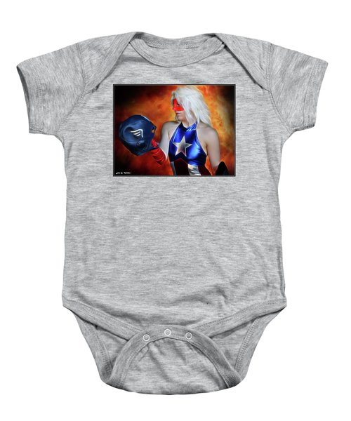 Fall And Rise Of A Hero Baby Onesie