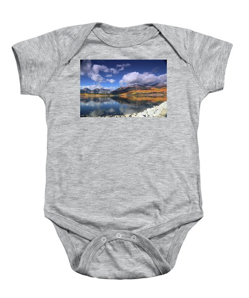 Fall At Twin Lakes Baby Onesie