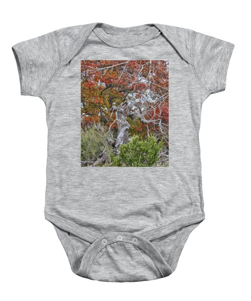 Fall Colors Once Again Baby Onesie