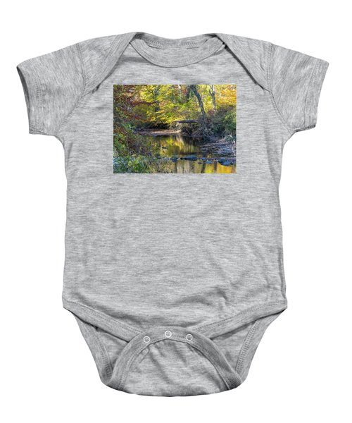 Fall Morning Baby Onesie