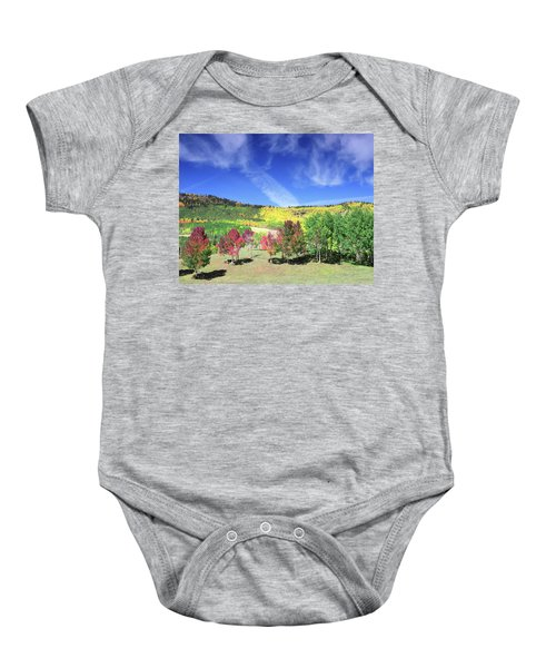 Fall On County Road 12 Baby Onesie