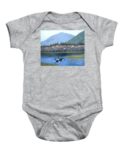 Family Outing Baby Onesie