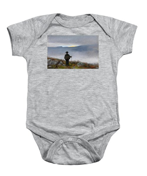Far Far Away Soria Moria Palace Shimmered Like Gold Baby Onesie