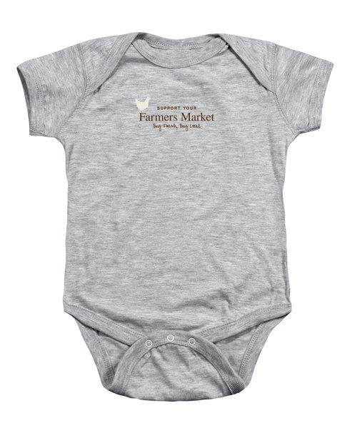 Farmers Market Baby Onesie