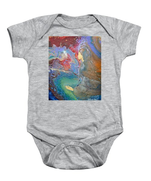 Father Of Lights Baby Onesie