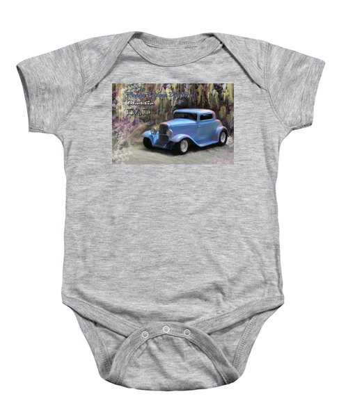 Fathers Day Classic Dad Baby Onesie