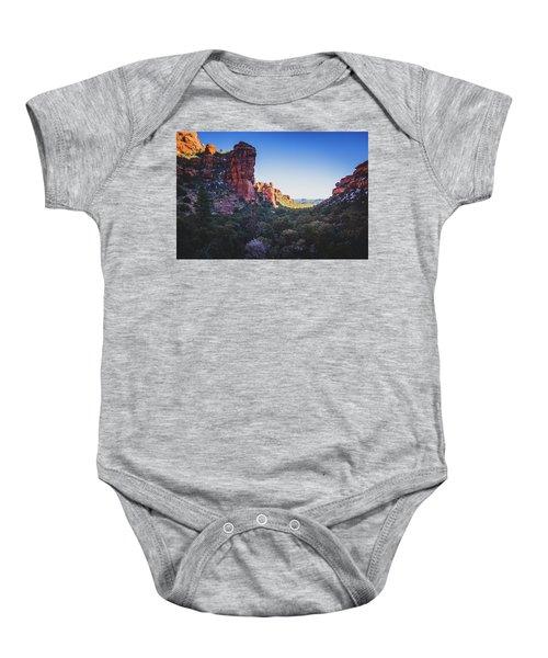 Fay Canyon Vista Baby Onesie