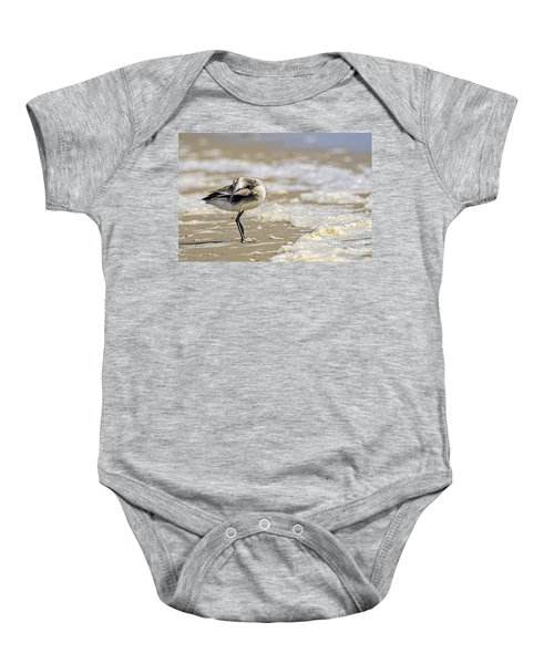Feather Bed Baby Onesie