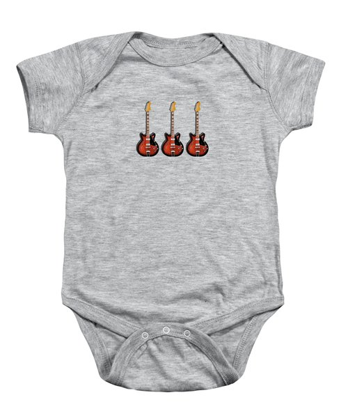 Fender Coronado Baby Onesie by Mark Rogan