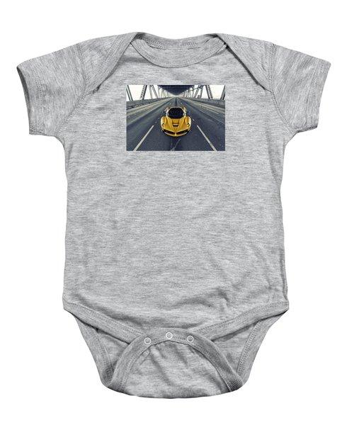 Ferrari Laferrari Baby Onesie