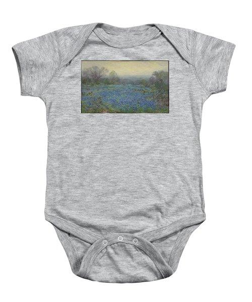 Field Of Bluebonnets Baby Onesie