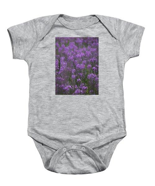 Field Of Fireweed Baby Onesie