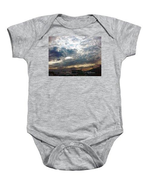 Fierce Skies Baby Onesie