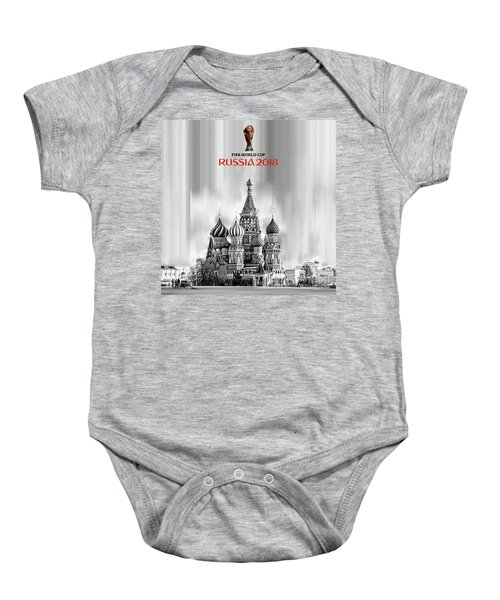 Fifa World Cup Russia 2018 Baby Onesie