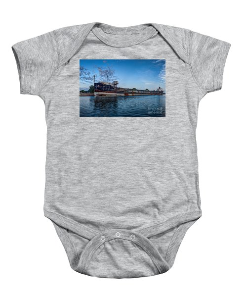 Final Mooring For The Algoma Transfer Baby Onesie