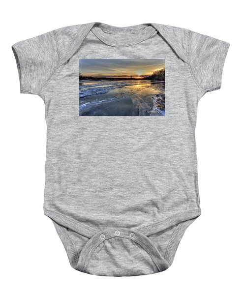 Fire And Ice Baby Onesie