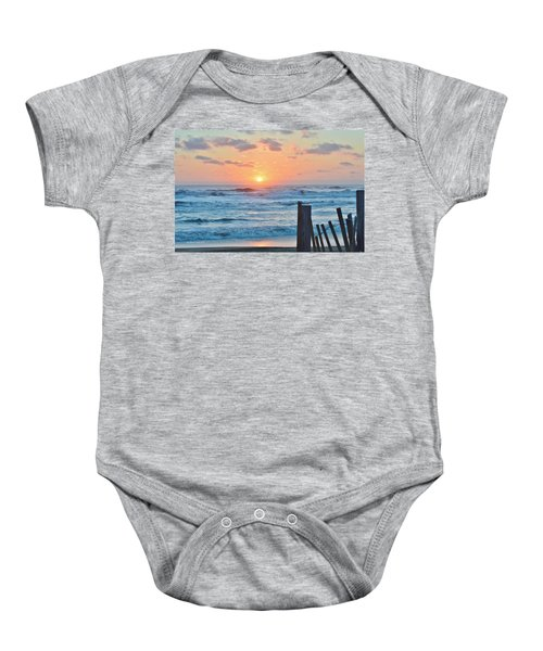 First Day Of Spring  Baby Onesie