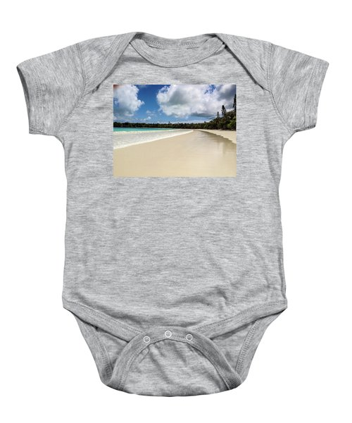 First Footprints Baby Onesie